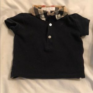 Kids Burberry Shirt and Pants Size 6 months